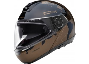 Helmet Full-face Flip-Up Schuberth C4 Pro WOMEN MAGNITUDO Brown Glossy