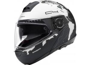Helmet Full-face Flip-Up Schuberth C4 Pro WOMEN MAGNITUDO White Matt