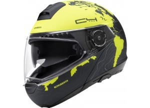 Helmet Full-face Flip-Up Schuberth C4 Pro MAGNITUDO Yellow