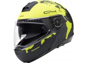 Helmet Full-face Flip-Up Schuberth C4 Pro WOMEN MAGNITUDO Yellow Matt