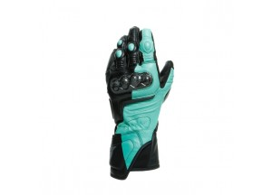 Motorcycle Gloves Dainese CARBON 3 LADY Black Aqua-Green Anthracite