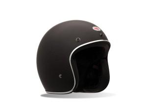 Helmet Jet Bell Custom 500 Carbon Matte Black