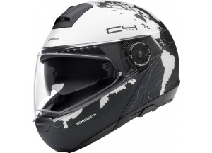 Helmet Full-face Flip-Up Schuberth C4 Pro MAGNITUDO White Matt