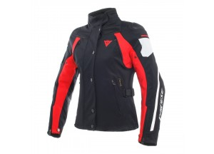 Jacket Dainese D-Dry Rain Master Lady Waterproof Black/Glacier-Gray/Red