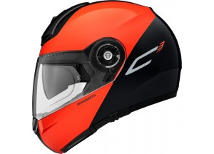 Helmet Flip-Up Schuberth C3 Pro Split Glossy Orange