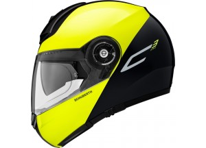 Helmet Flip-Up Schuberth C3 Pro Split Glossy Yellow