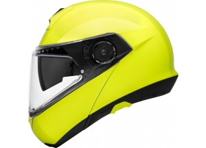 Helmet Full-face Flip-Up Schuberth C4 Pro Fluo Yellow