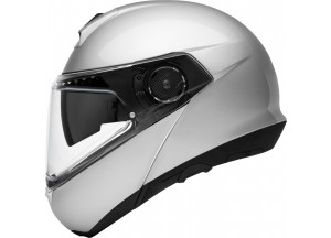 Helmet Full-face Flip-Up Schuberth C4 Pro Glossy Silver