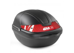 CY14N - Top Case Hardbag Givi Fixed Bicycle Nero 14lt