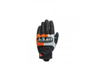 Motorcycle Gloves Man Dainese D-EXPLORER 2 Black Gray Orange
