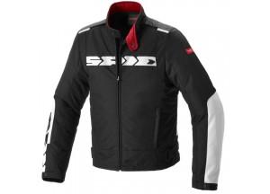 Jacket Moto Spidi H2OUT SOLAR Black White