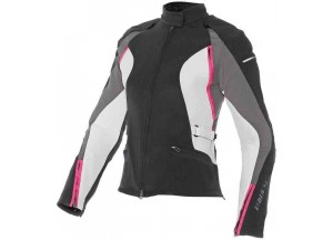 Jacket Dainese Arya Tex Lady Black Grey Fuchsia