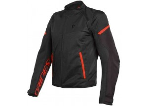 Jacket Dainese Bora Air Tex Black Red Fluo