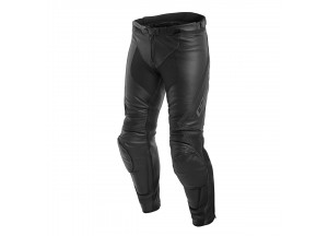 Motorcycle Pants Man Leather Dainese ASSEN Black/Anthracite