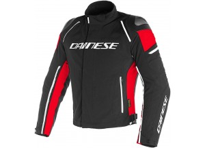 Motorcycle Jacket Man Dainese RACING 3 D-DRY Black/Red