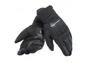 Motorcycle Gloves Man Dainese SOLARYS SHORT GORE-TEX Black