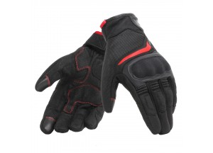 Motorcycle Gloves Unisex Dainese AIR MASTER Black/Red