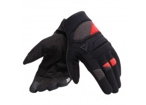 Motorcycle Gloves Dainese FOGAL UNISEX Black/Red
