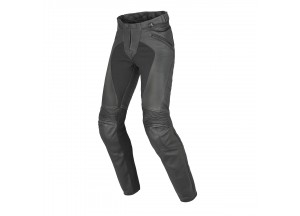 Motorcycle Pants Woman Leather Dainese PONY C2 LADY Black