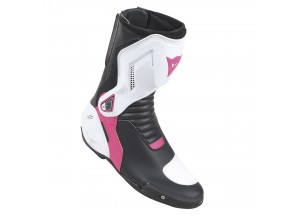 Boots Dainese Woman NEXUS LADY Black/White/Fuchsia
