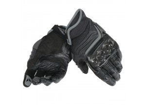 Motorcycle Gloves Woman Dainese CARBON D1 SHORT Black