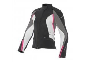 Jacket Dainese Arya Lady D-Dry  Waterproof Black/Vaporous-Gray/Fuchsia