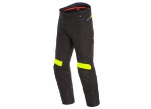 Motorbike Pants Man Dainese Gore-Tex Dolomiti Black Black Fluo Yellow