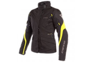 Waterproof Jacket Dainese Tempest 2 D-Dry Lady Black Black Fluo Yellow