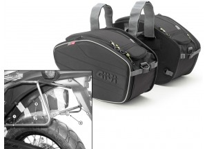 Saddle Bags Givi EA101B + Specific holder for Honda XL 700V Transalp (08>13)
