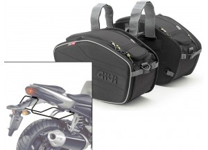 Saddle Bags Givi EA101B + Specific holder for Yamaha FZ1 1000 (06>15)