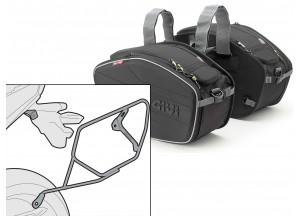Saddle Bags Givi EA101B + Specific holder for Kawasaki Ninja 300 (13 > 16)