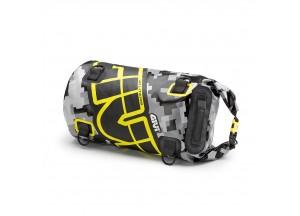 EA114CM - Givi Waterproof roller bag saddle or luggage rack 30 Lt Yellow Gray