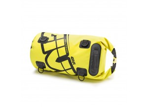 EA114FL - Givi Waterproof roller bag saddle or luggage rack 30 Lt Yellow Fluo