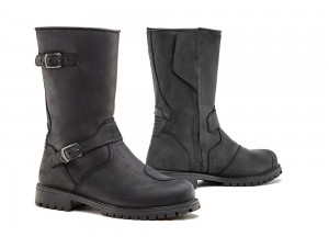 Leather Boots Forma Touring Outdry Waterproof Eagle Black