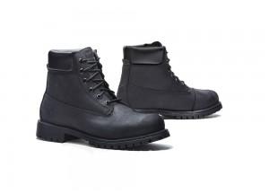 Shoes Moto Forma Urban Leather Waterproof Elite Black
