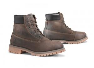 Shoes Moto Forma Urban Leather Waterproof Elite Brown