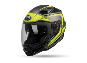 Helmet Flip-Up Full-Face Airoh Executive Line Yellow Matt