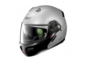 Helmet Flip-Up Full-Face Grex G9.1 Evolve Couplè 26 Flat Silver