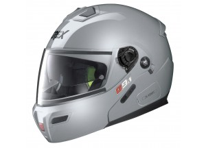 Helmet Flip-Up Full-Face Grex G9.1 Evolve Kinetic 23 Metal Silver