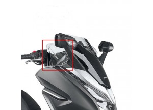 DF1166 - Givi transparent handle-bar wind deflectors HONDA Forza 125-300 2019