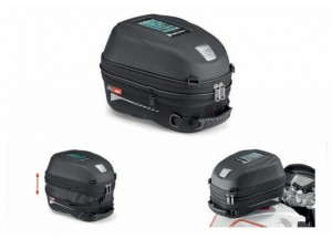 ST603B - Givi TANKLOCK tank bag expandable with a 15 ltr capacity