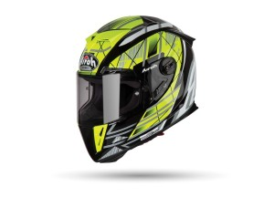 Helmet Full-Face Airoh GP500 Drift Yellow Gloss