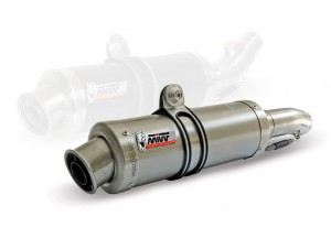K.035.L6S - Silencer Exhaust Mivv SLIP-ON SPORT GP TITAN KAWASAKI Z 800 E 2013>