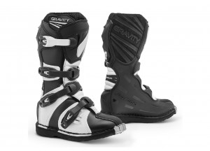 Boots Forma Off-Road Motocross MX GRAVITY Black White