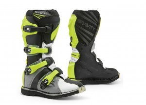 Boots Forma Off-Road Motocross MX GRAVITY Grey White Fluo-Yellow