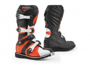 Boots Forma Off-Road Motocross MX GRAVITY Black Orange White