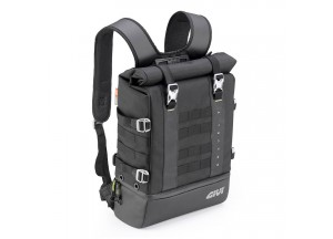 GRT711 - Givi Black Backpack With Yellow Inside 25 liters