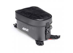 GRT716 - Givi Black Waterproof Tank Bag With Yellow Inside 10 liters