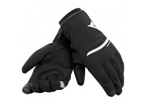 Motorcycle Gloves Dainese Plaza 2 Unisex D-dry Black/White