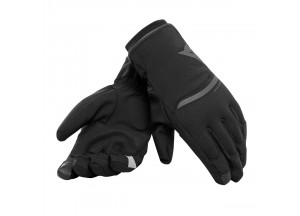Motorcycle Gloves Dainese Plaza 2 Unisex D-dry Black/Black